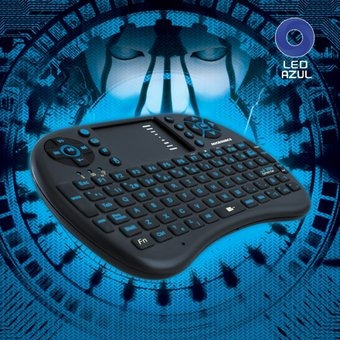 mini teclado inalámbrico touch micronics voyeur + - mic k301