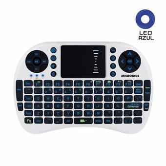 mini teclado inalámbrico touch micronics voyeur - mic k303w