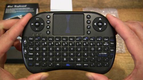 mini teclado inalambrico touchpad para smart tv box bateria