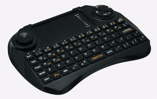 mini teclado mouse inalambrico control de dirección smart tv