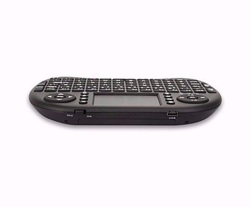 mini teclado touchpad wireless bluetooth usb pc tv xbox ps3