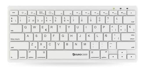 mini teclado ultra slim usb pc windows mac tecla ñ mouse
