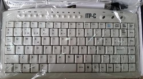 mini teclado usb itp c con ñ