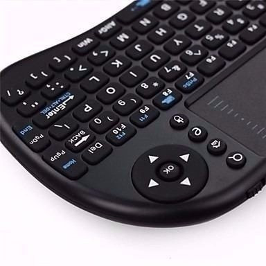 mini teclado wireless keyboard mouse smart tv samsung lg e +