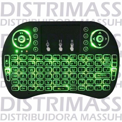 mini teclado wireless para smart tv y mas. inc iva y garanti