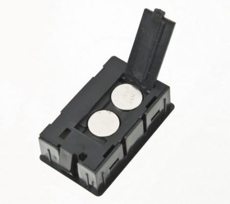 mini termômetro digital lcd umidade temperatura higrômetro