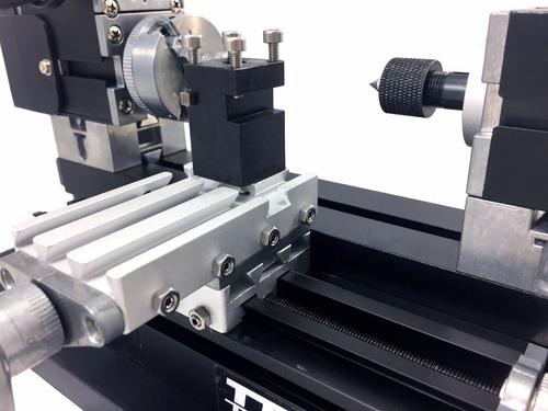 mini torno mecânico metal bancada - the first tool tz20002mg