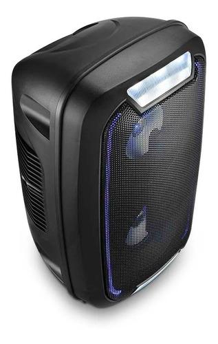 mini torre neon caixa som bluetooth party sp336 multilaser