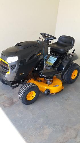 mini tractor corta cesped poulan pro 19a42