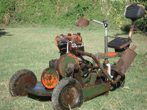 mini tractor corta cesped / tractor corta pasto