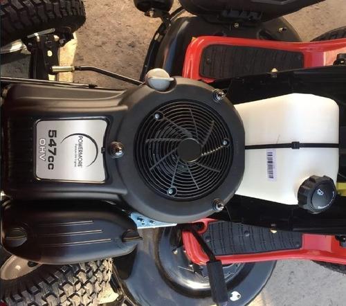 mini tractor corta cesped troy bilt 19,5 hp - 46 de corte