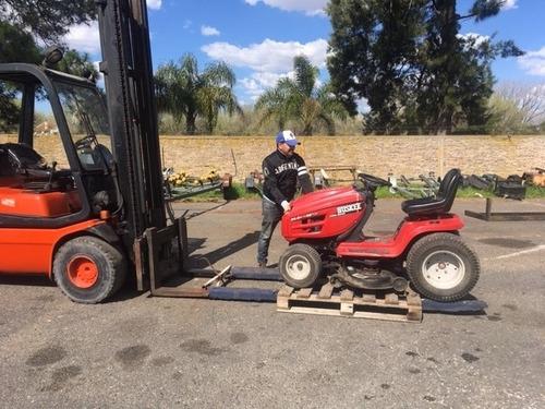 mini tractor corta pasto de 24 hp