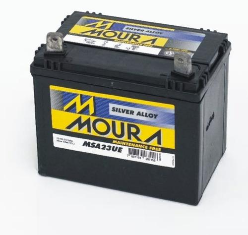 mini tractor cortacesped  bateria moura 12 x 24