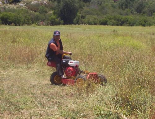 mini tractor cortacesped rh001 pro c/ motor honda 13hp