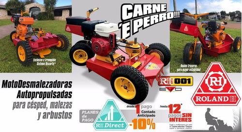 mini tractor cortacesped roland h001 evo c/motor honda 13hp