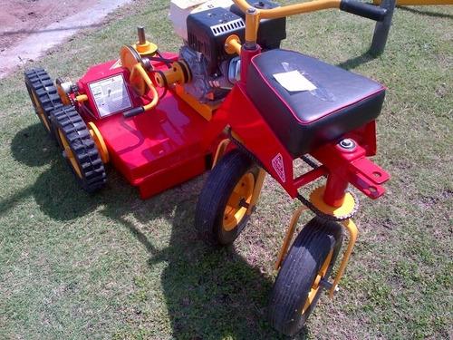 mini tractor cortacesped roland h001 pro 6x4 c/honda 13hp