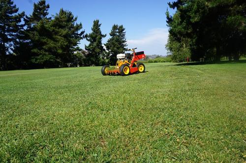 mini tractor de pasto y maleza motor bencinero roland h