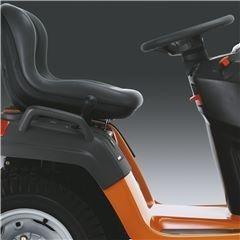 mini tractor husqvarna 18hp con bolsa recolectora incluida
