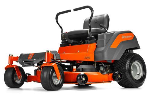 mini tractor husqvarna radio cero z246 23hp 12 cuotas s/int