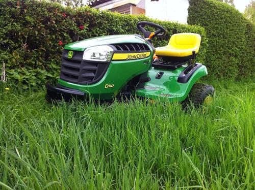 mini tractor john deere e110. 19 hp