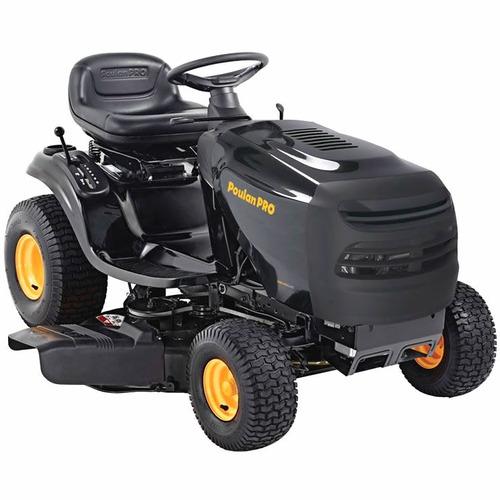 mini tractor poulan 14.5hp con plataforma de 42 pulgadas