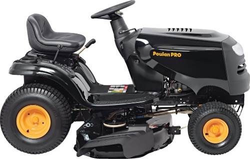 mini tractor poulan pro 17.5 hp - 12 cuotas sin interes