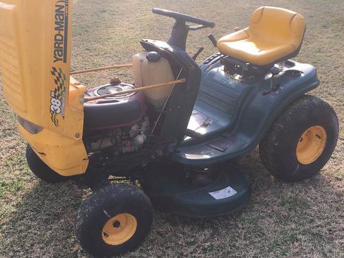 mini tractor yard man 38