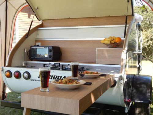 mini trailer miniroad classic motor home casa rodante