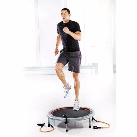 mini trampolin aerobico 36 in golds gym original nuevo caja