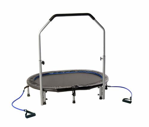 mini trampolin brincolin ejercicio con bandas *envio gratis