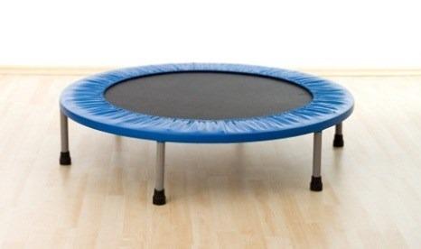 mini trampolin ejercicio aerobics 91cm jump body