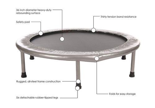 mini trampolin ejercicio fitness 36 pulgadas envío gratis!!!