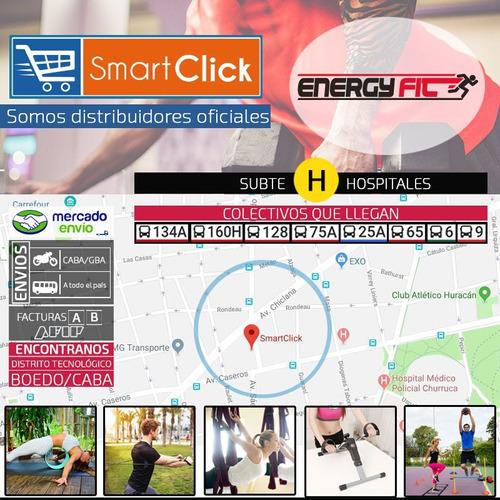 mini trampolin gimnasia fitness profesional 36 steps + funda