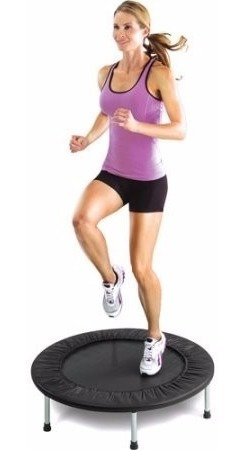 mini trampolín o saltarin fitness 36 pulgadas importado