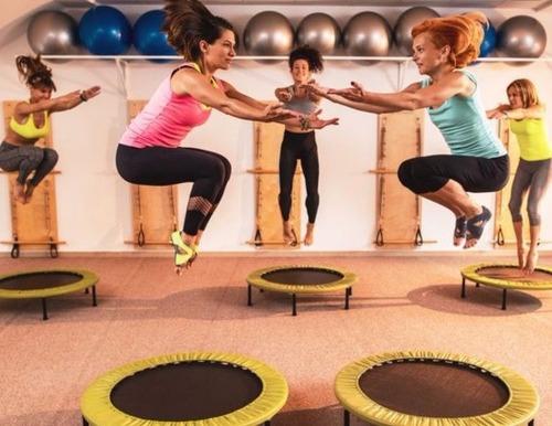 mini trampolín o saltarin fitness 38 pulgadas