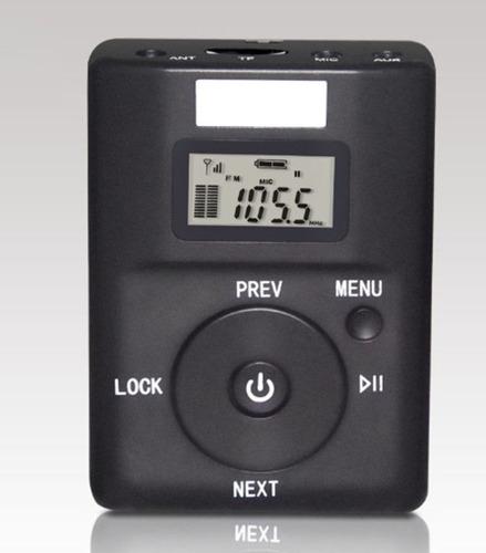 mini transmissor fm p2 500m. p/ smartphone tablet notebook