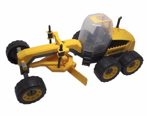 mini trator de brinquedo motoniveladora c/ frete grátis