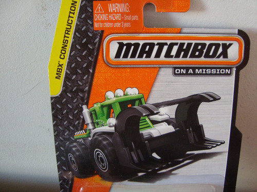 mini trator dirt smasher da matchbox  esc provavel de 1/64