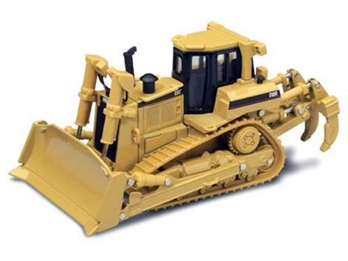 mini trator esteira caterpillar d8r 1:50 norscot - 55099