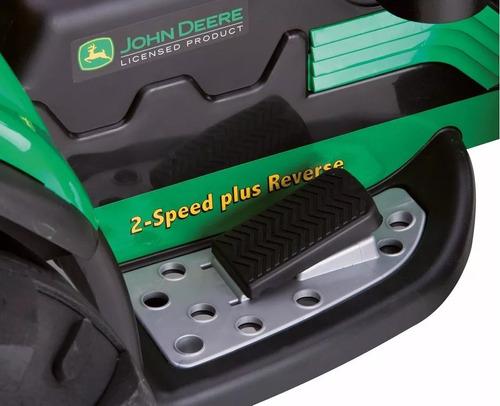 mini trator john deere ground force  peg perego