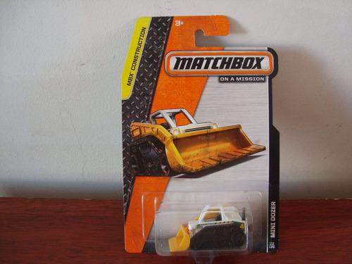 mini trator  mini doozer pa garregadeira da matchbox