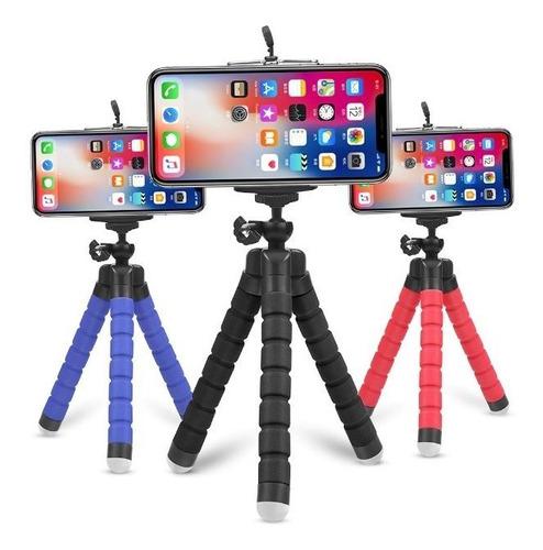 mini tripé ajustável flexível suporte cameras celular gopro