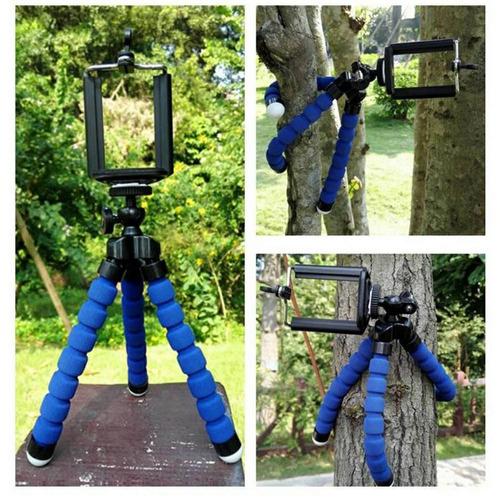 mini tripé articulado flexivel celular, cameras, gopro - sup