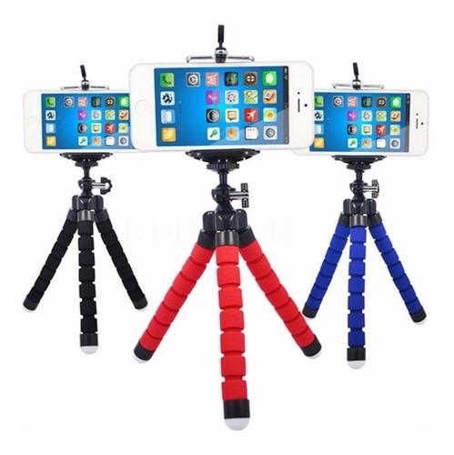 mini tripé flexível ajustável gopro móvel para celulares