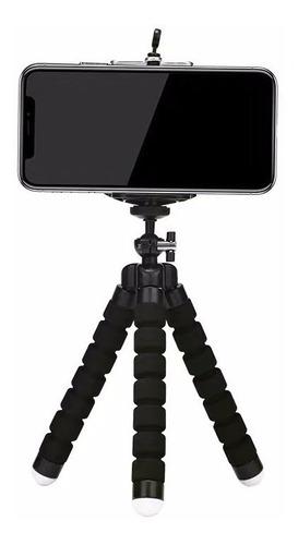 mini tripé flexível octopus suporte celular gopro cameras
