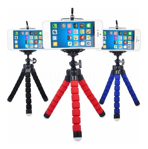 mini tripé flexível p/ celulares barato câmeras frete gratis