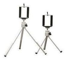 mini tripé selfie com suporte celular  iphone nokia motorola