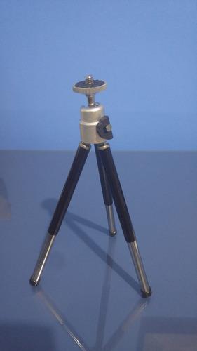 mini tripé universal p/ câmera sony nikon canon