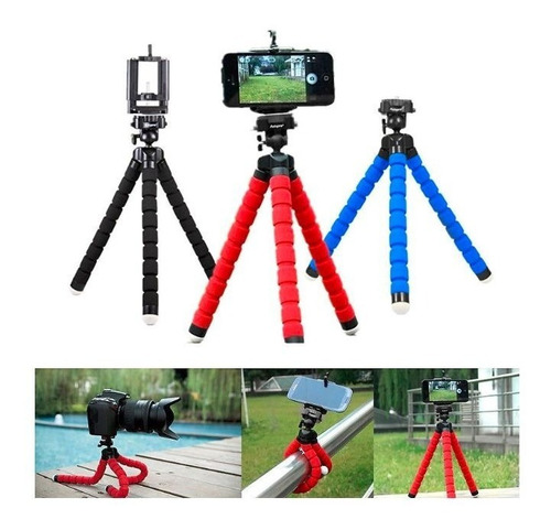mini tripode flexible para cámara profesionales y celulares