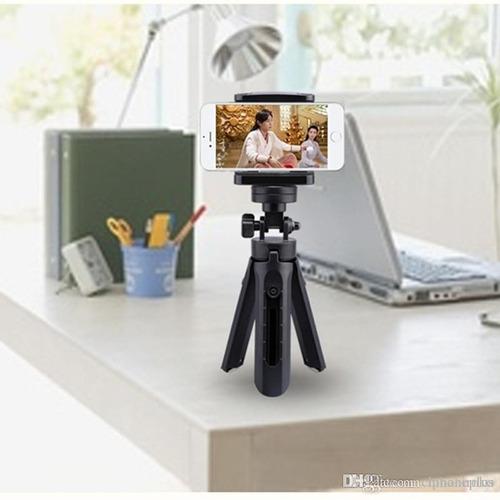 mini trípode para celulares y cámaras